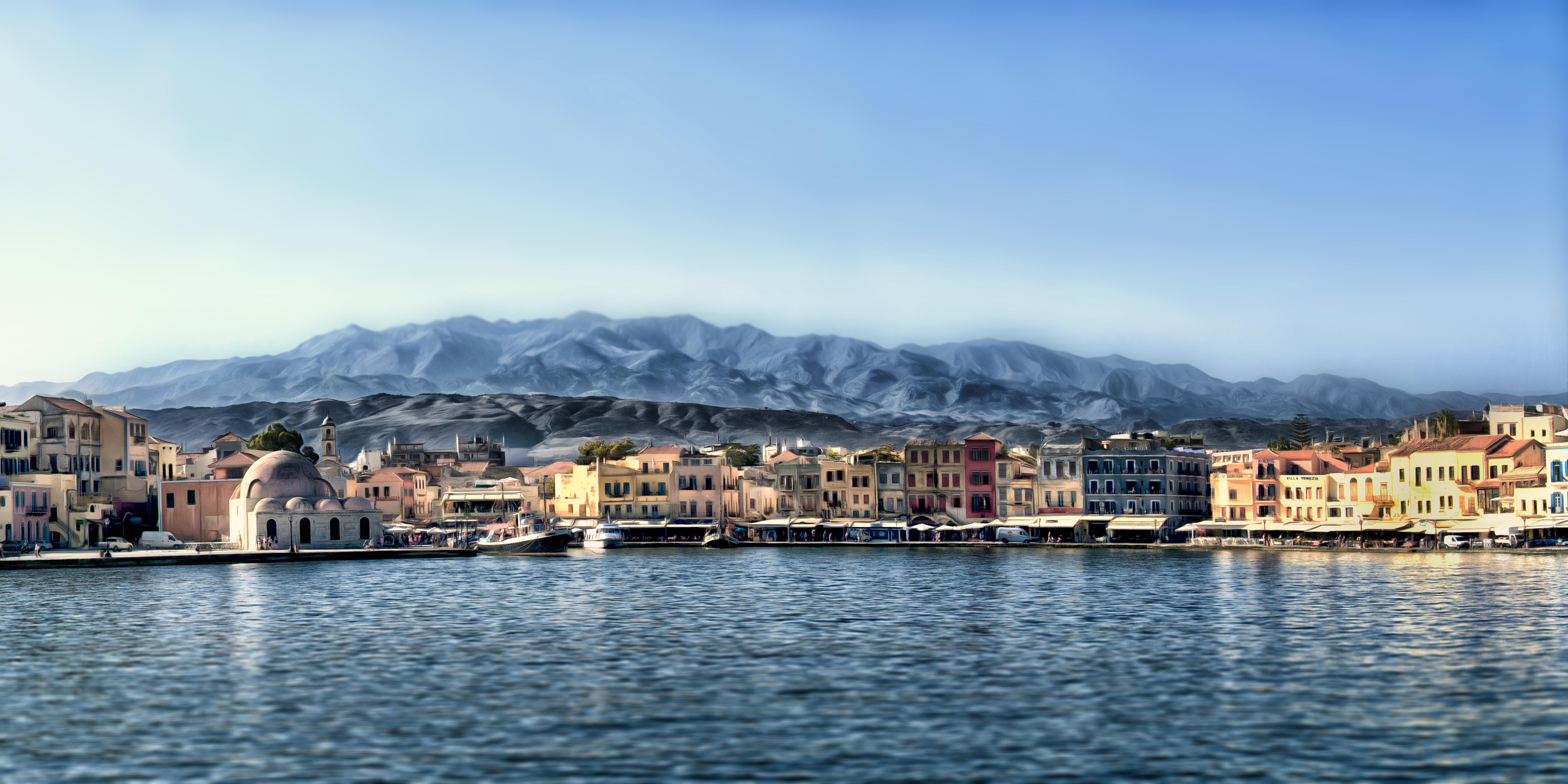 Chania Hafen, Kreta